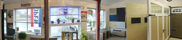 Panorama vision of our showroom